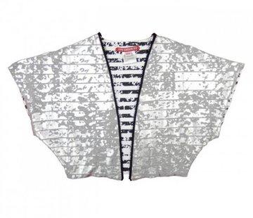 LoveStation22 60% korting: Kimono Alisa, zilver