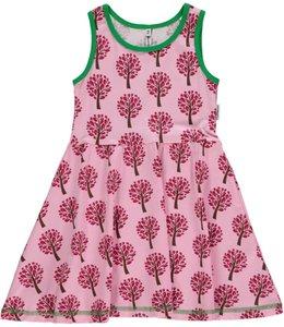 Maxomorra Roze boompjesjurk mouwloos