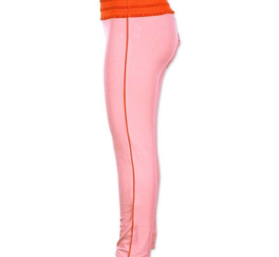 4FunkyFlavours legging zachtroze 'Big in Japan'