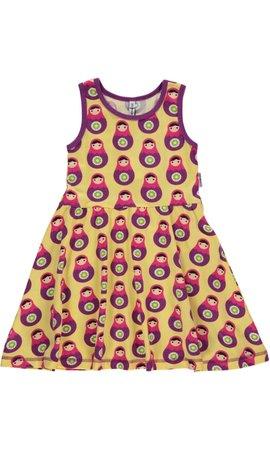 Maxomorra baboesjka jurkje mouwloos