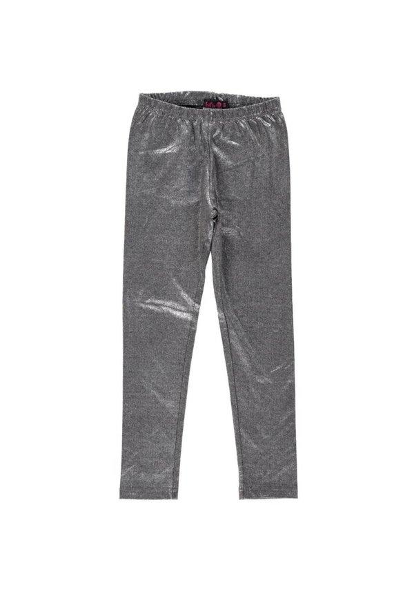 Legging zilver lang