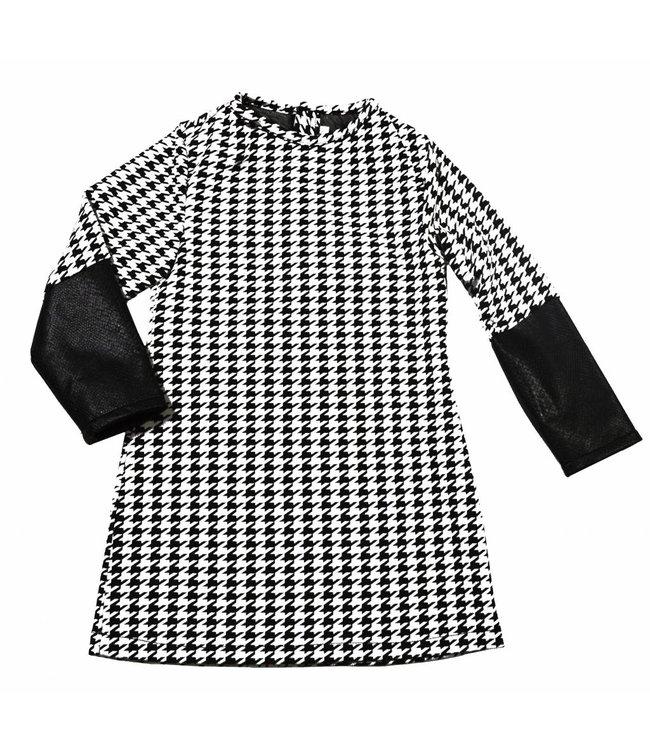 Soekartien Zwart wit jurkje