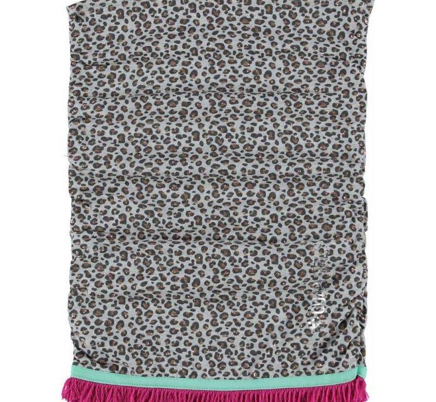 Sjaal Evita Grijs melee allover winter 2016 /2017 collectie