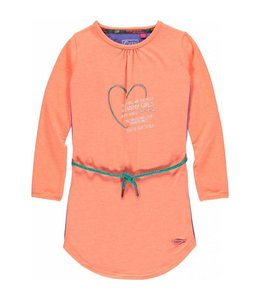 Quapi Jurk Ellen papaya oranje