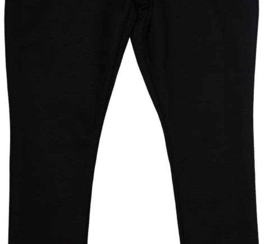 Zwarte legging met kantrandje uit de wintercollectie van Soekartien 2016/2017