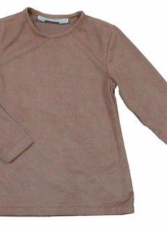 Soekartien -hand made  Beige suède shirt