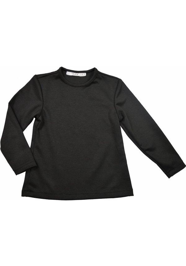 Zwart shirt uit de wintercollectie van Soekartien