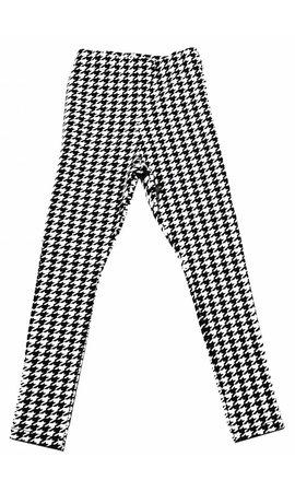 Soekartien Zwart wit legging