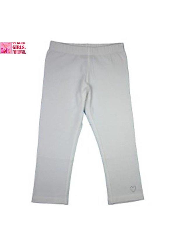 Witte legging uit de zomercollectie van Lofff 2017