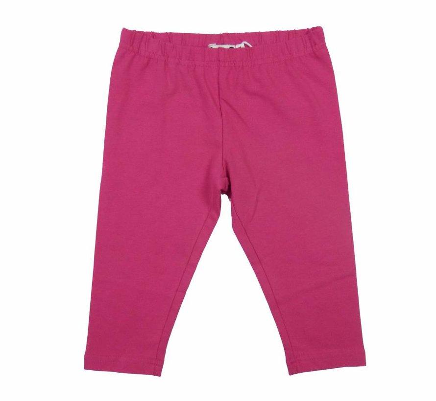 Legging driekwart in indian pink van LoFff zomer 2017