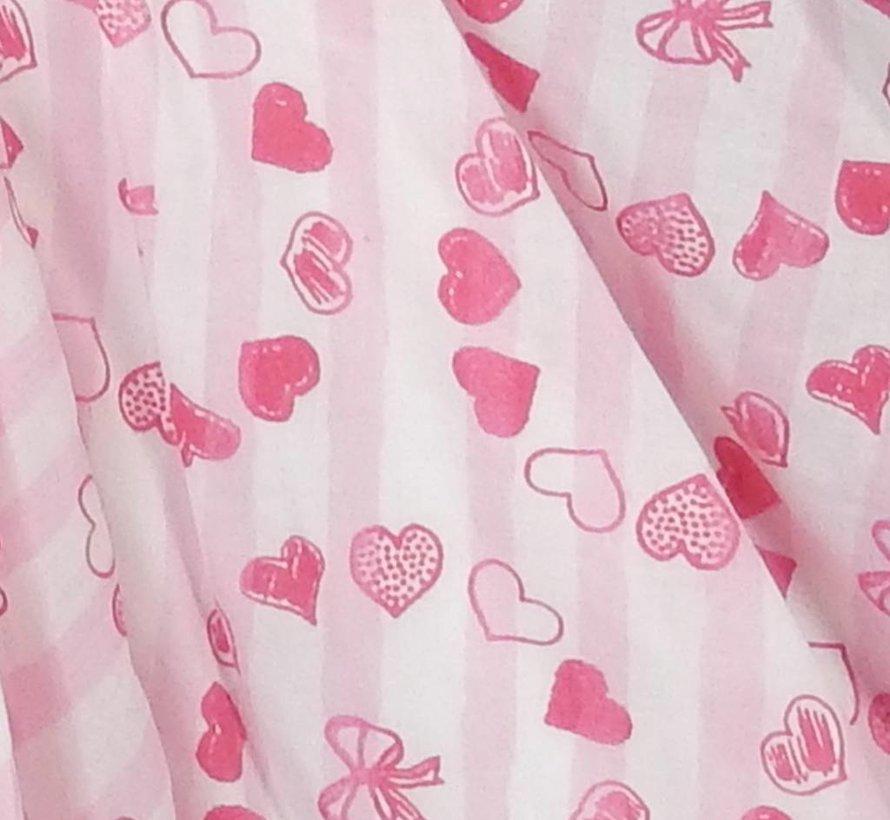Feestjurk fuchsia roze van LoFff zomer