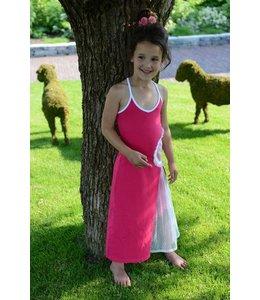 LoFff Maxi jurk fuchsia