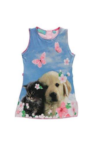 Very Lovely Girls - VLG Mouwloos hond en kat jurkje