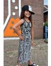 Jurk Lotte in lichtgrijs, zomercollectie 2017