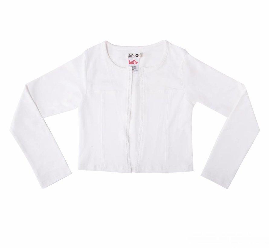 Wit jasje van  LoFff zomer 2018