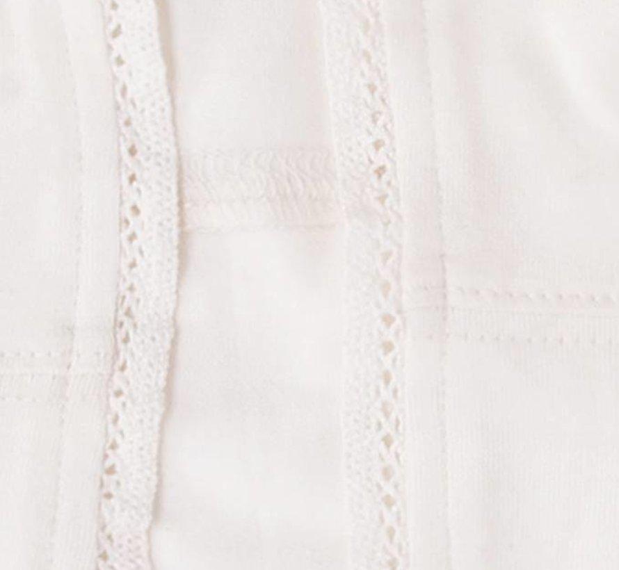 Gebroken wit jasje van  LoFff zomer 2018