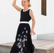 LoFff Maxi jurk  zwart