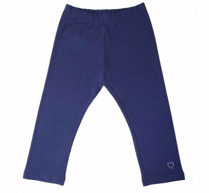 Blauwe legging driekwart van  LoFff zomer 2018