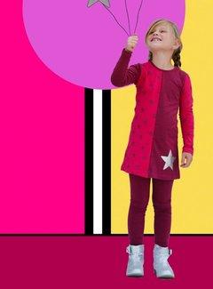 Happy nr 1  Jurkje roze met ster