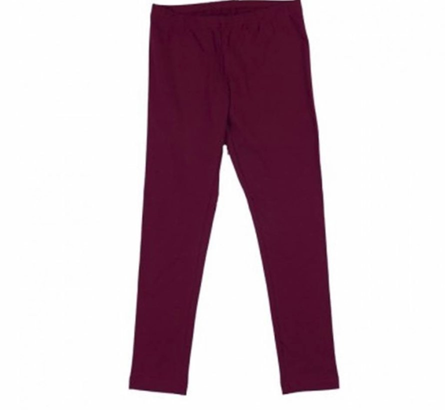 Legging burgundy, Happy, winter 2017-2018
