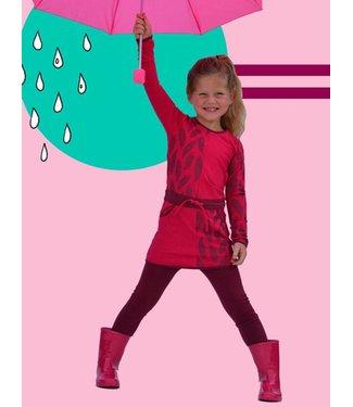 Happy nr 1  Jurkje roze met veren