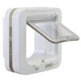 SureFlap SureFlap kattenluik microchip gestuurd wit