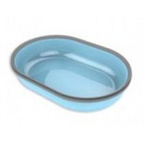 Surefeed bakje enkel blauw