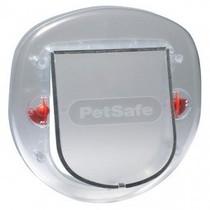 Staywell kattenluik 270 geschikt voor glazen en houten deuren transparant