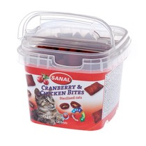 Cranberry & Chicken Bites in cup