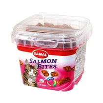 Salmon Bites in cup