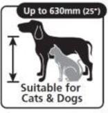 Dog Mate Hondenluik large 216 Bruin