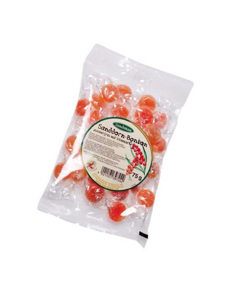 Sandokan Sanddornbonbons ohne Zucker 75g