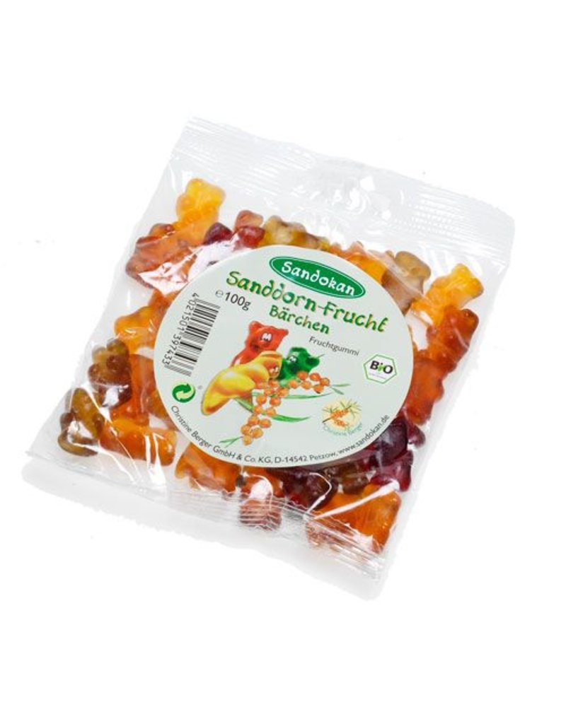 Sandokan BIO-Sanddorn-Fruchtbärchen 100g