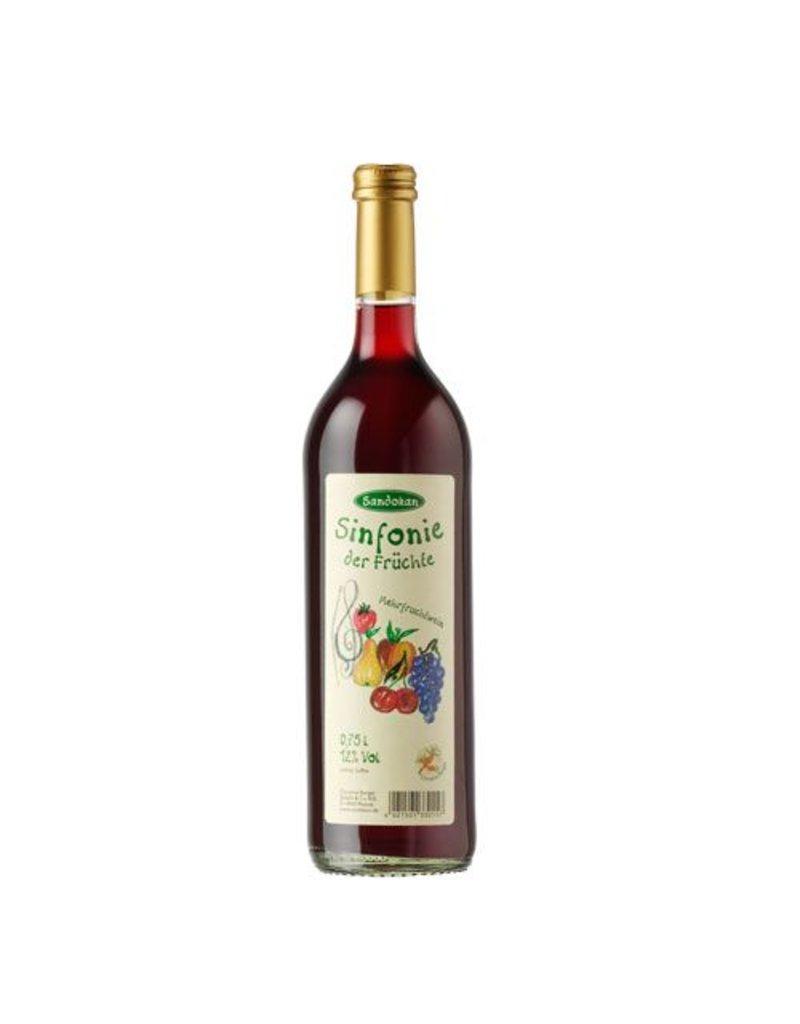 Sandokan Mehrfruchtwein Sinfonie der Früchte 0,75l