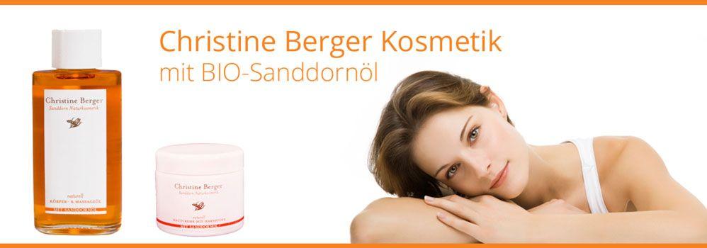 Sanddorn-Kosmetik