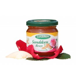 Sandokan Sanddorn Rosen Fruchtaufstrich