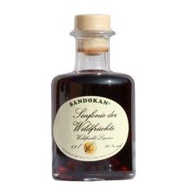 Sandokan Sinfonie der Wildfrüchte Likör 0,2L Apothekerflasche