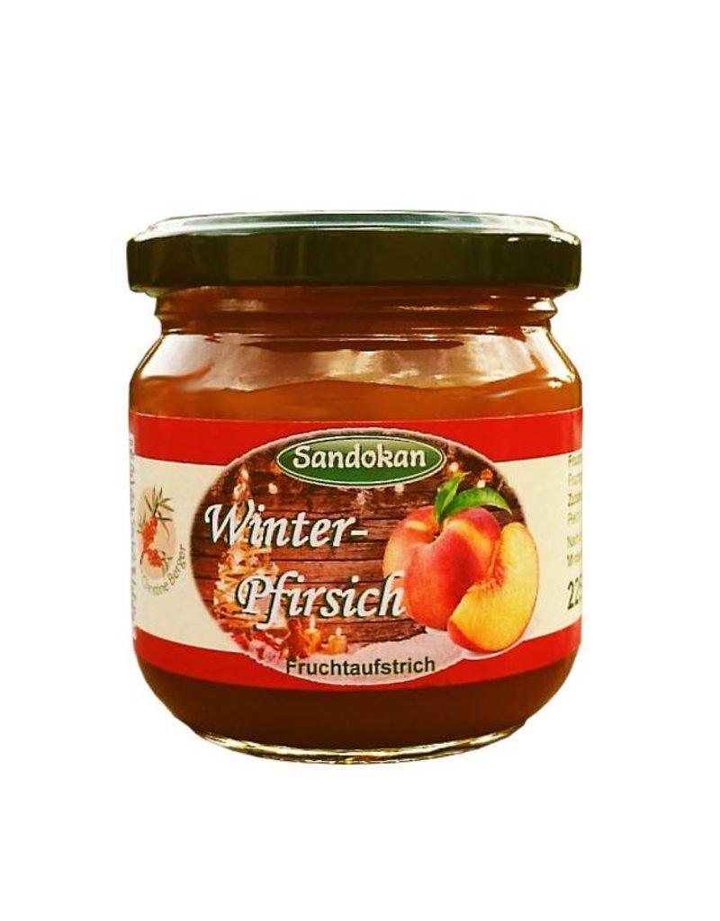 Sandokan Winter-Pfirsich Fruchtaufstrich 225 g
