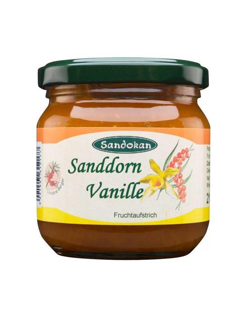 Sandokan Sanddorn-Vanille Fruchtaufstrich 215 g