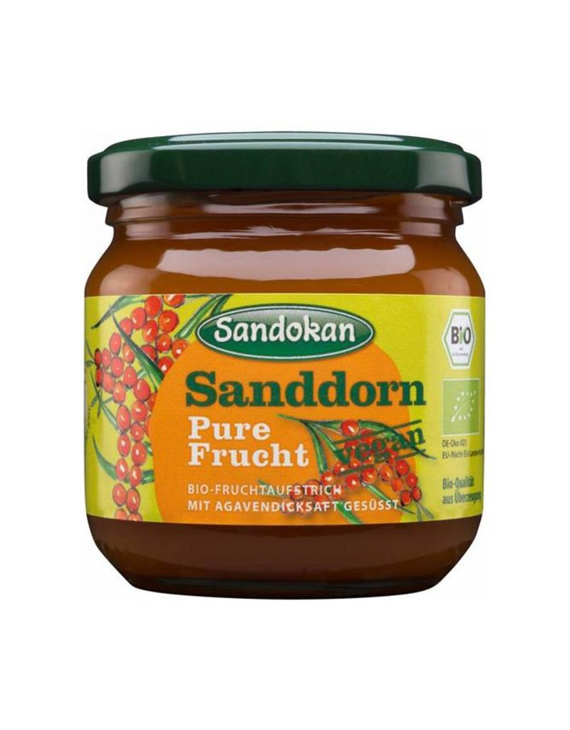 """Sandokan BIO-Sanddorn-Fruchtaufstrich """"Pure Frucht"""" 225 g"""