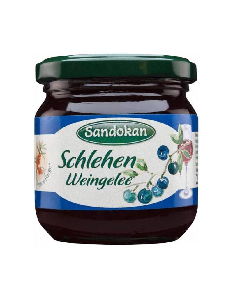 Sandokan Schlehen Weingelee 225 g