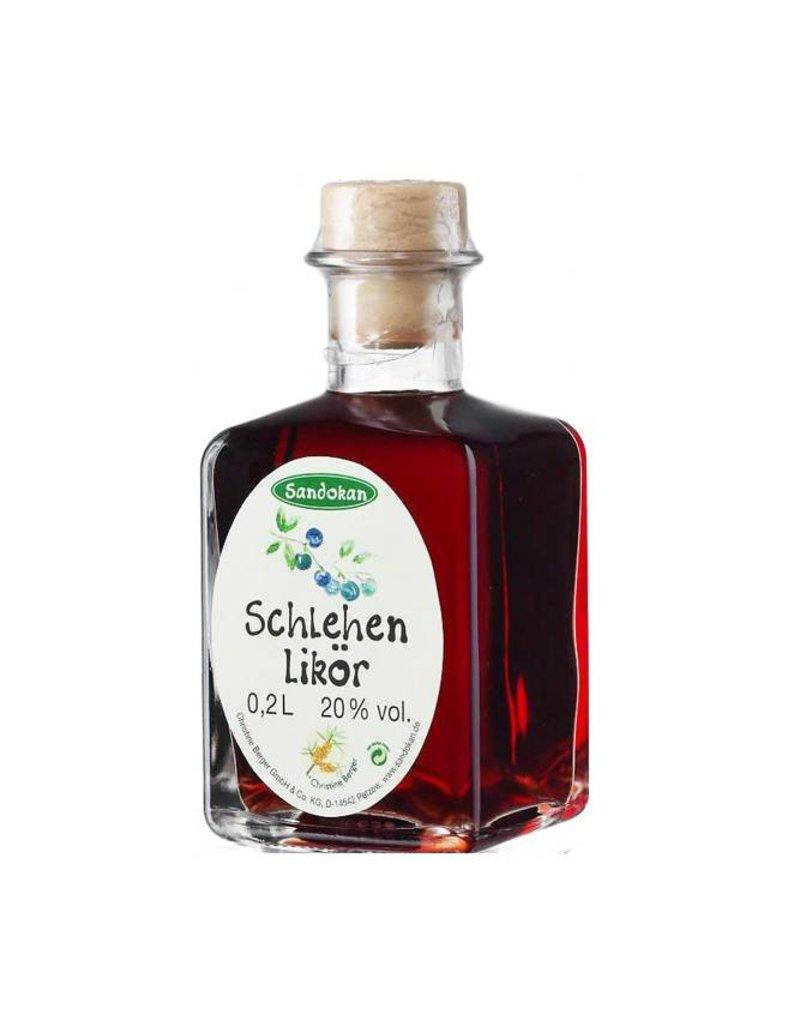 Sandokan Schlehenlikör 0,2L Picasso