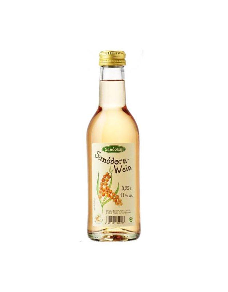 Sandokan Sanddornwein 0,25L mit Schraubverschluss
