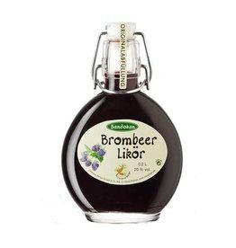 Sandokan Brombeerlikör 0,2L Taschenflasche