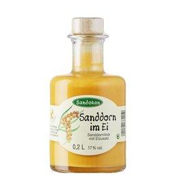 Sandokan Sanddorn im Ei 0,2L Apothekerflasche