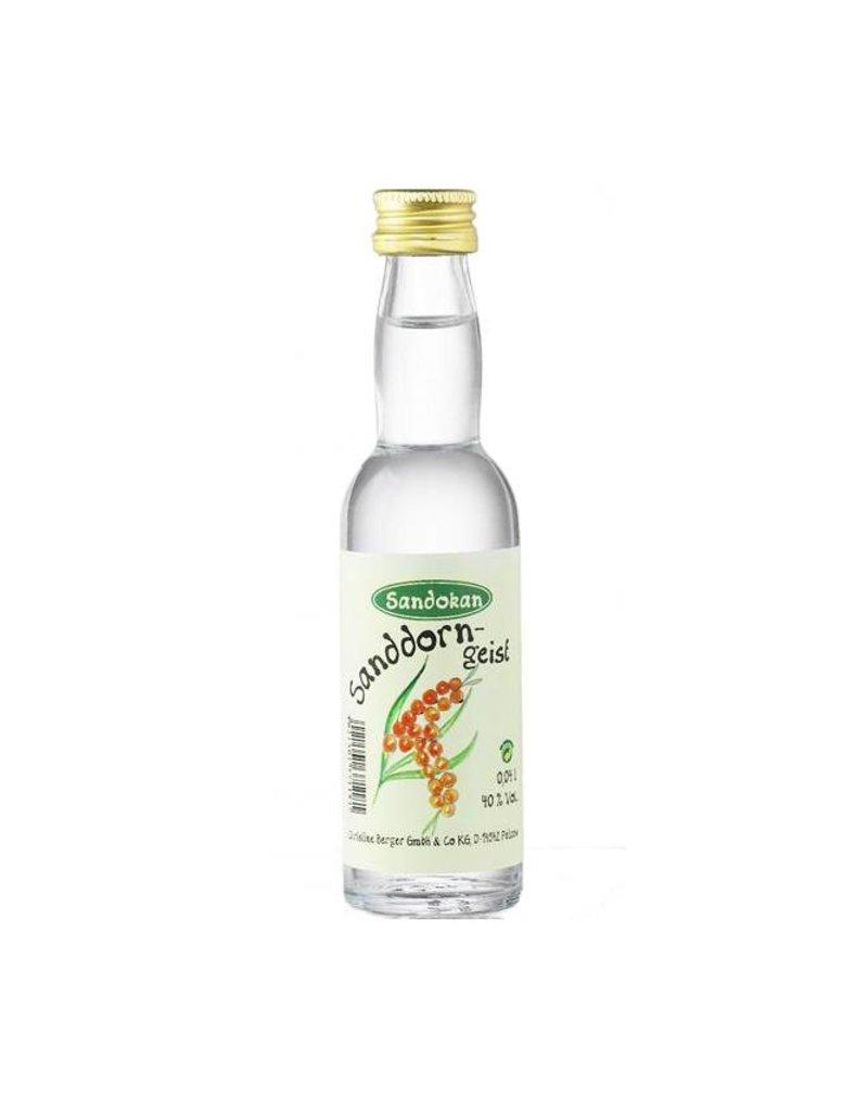 Sandokan Geist aus Sanddorn 0,04l Kropfhalsflasche