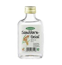 Sandokan Geist aus Sanddorn 0,1L Taschenflasche