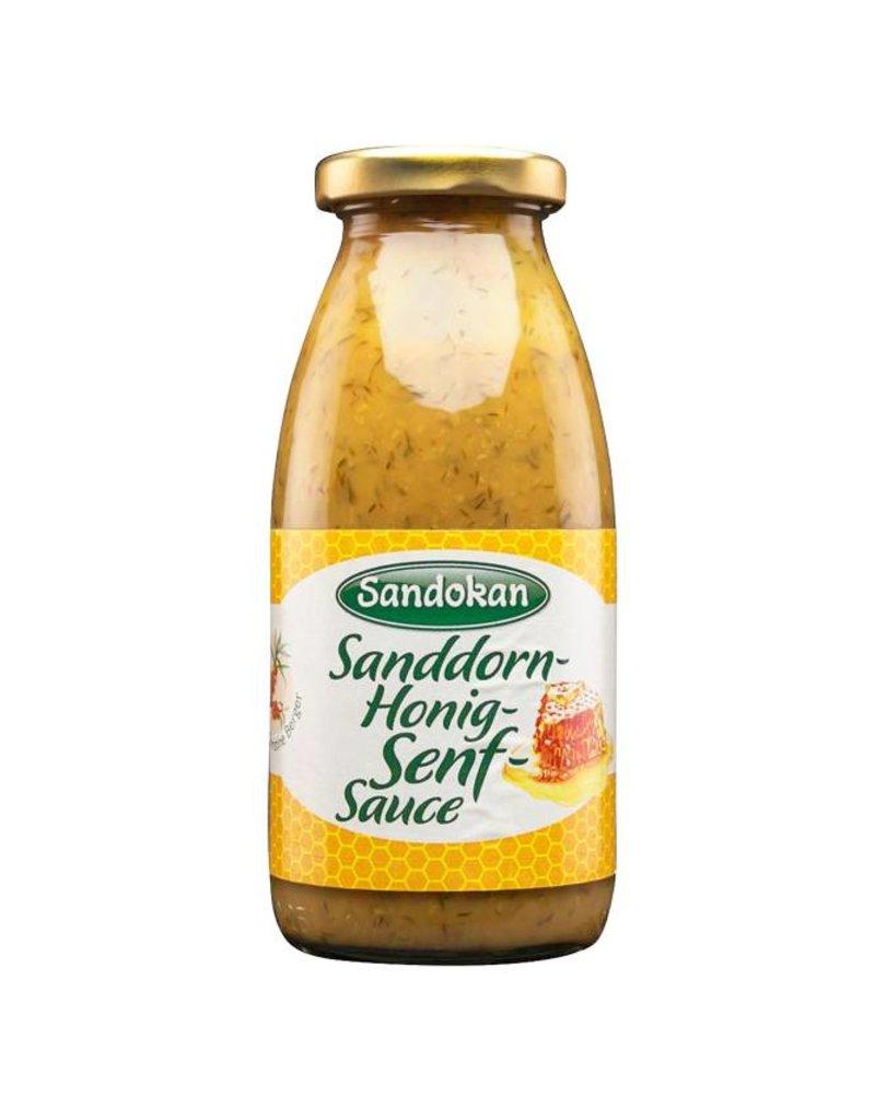 Sandokan Sanddorn-Honig-Senf Sauce 250 ml