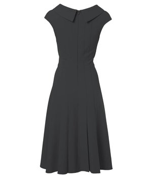 Anna Dress Pear Black