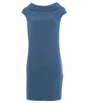 Anna Dress Rectangle Blue